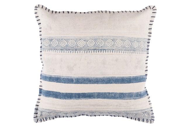 Accent Pillow-Lily Denim Stripes 20X20 - 360
