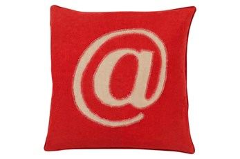 Accent Pillow-Atmark Cherry 20X20