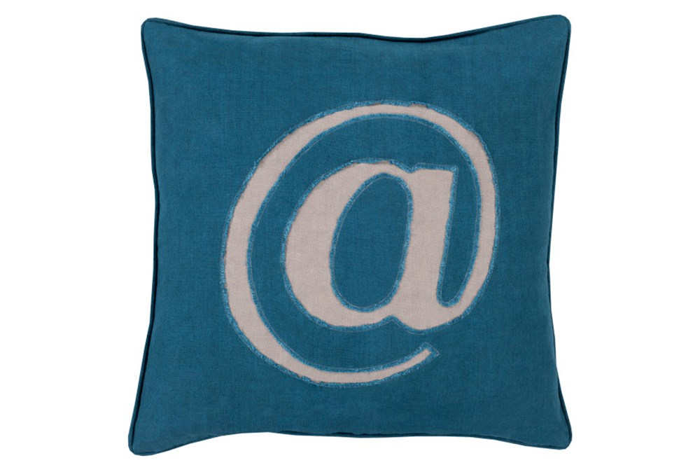 Accent Pillow-Atmark Navy 18X18