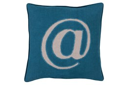 Accent Pillow-Atmark Navy 20X20