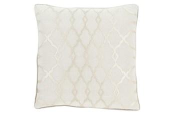 Accent Pillow-Karissa Ivory 18X18