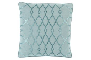 Accent Pillow-Karissa Teal 18X18