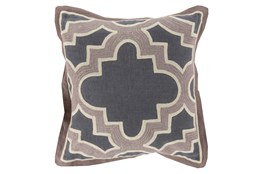 Accent Pillow-Marciano Grey/Taupe 18X18
