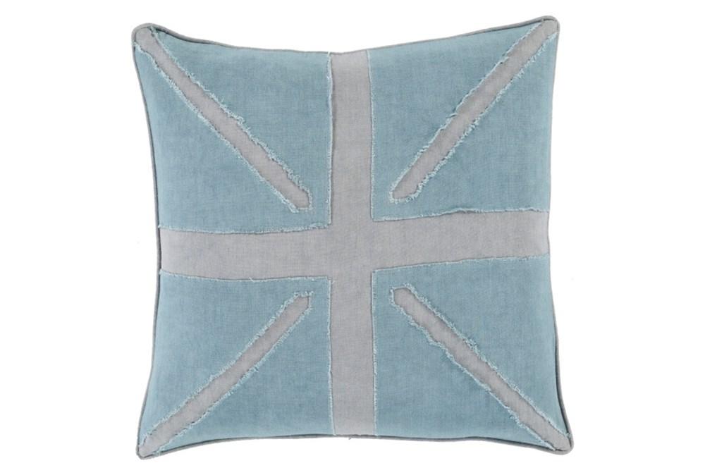 Accent Pillow-United Aqua 20X20