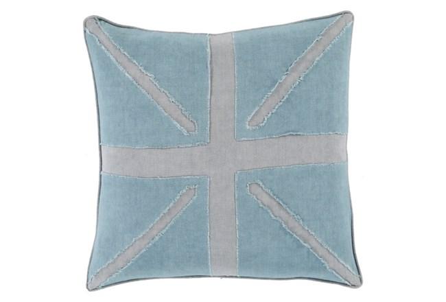 Accent Pillow-United Aqua 20X20 - 360