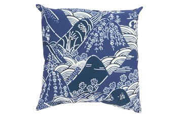 Accent Pillow-Jelani Navy 20X20