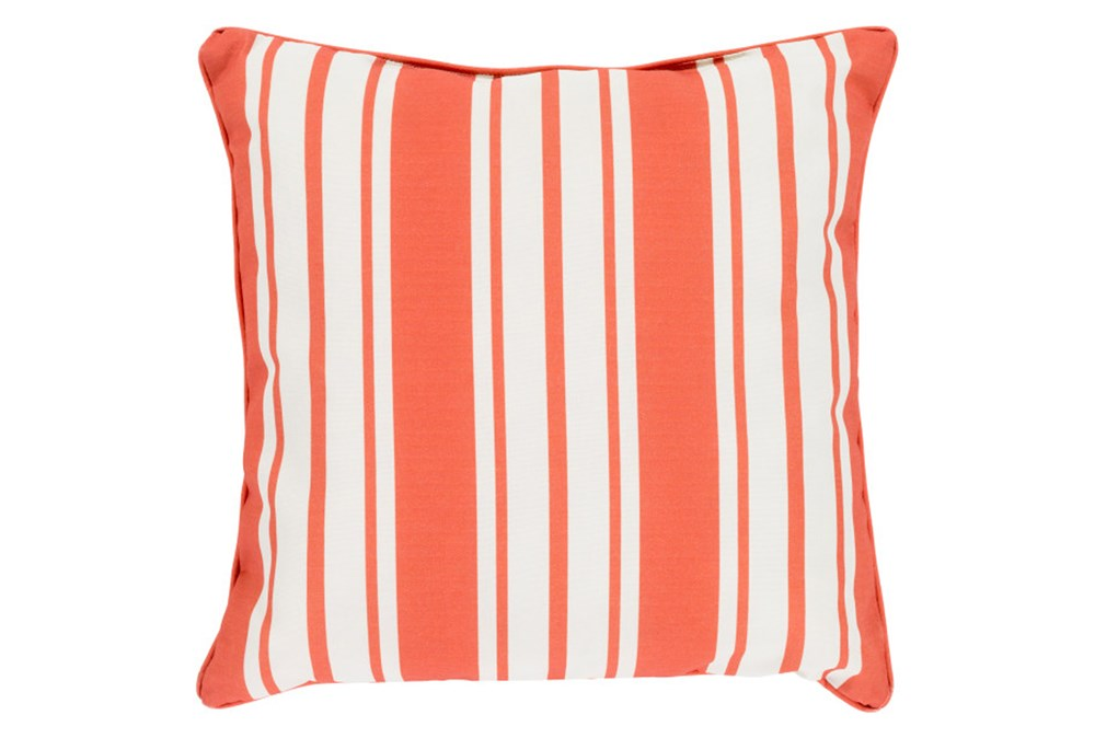 Accent Pillow-Sea Breeze Stripe Rust 20X20