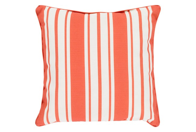 Accent Pillow-Sea Breeze Stripe Rust 20X20 - 360