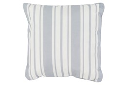 Accent Pillow-Sea Breeze Stripe Grey 20X20