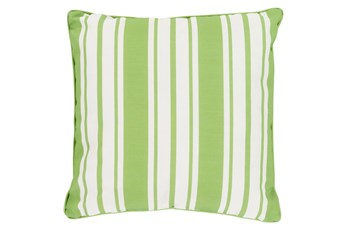 Accent Pillow-Sea Breeze Stripe Lime 16X16