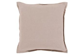 Accent Pillow-Clara Taupe 22X22