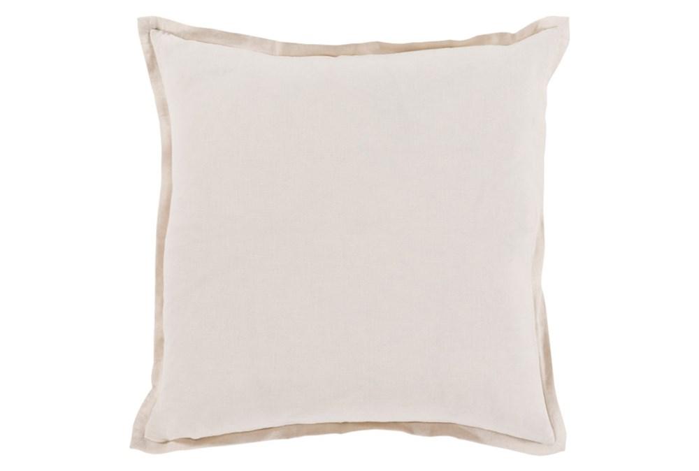 Accent Pillow-Clara White 20X20