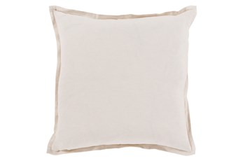 Accent Pillow-Clara White 22X22