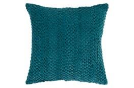 Accent Pillow-Velour Emerald 18X18