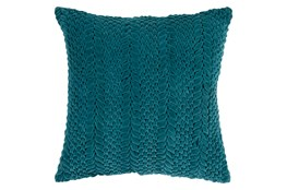 Accent Pillow-Velour Emerald 22X22