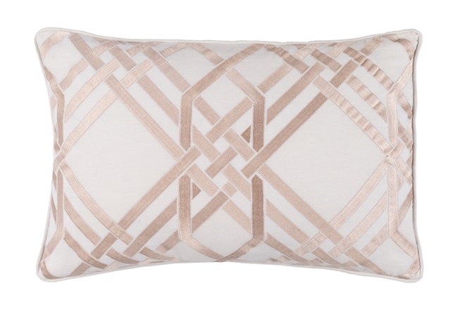 Accent Pillow-Alcove Ivory 13X20 - 360