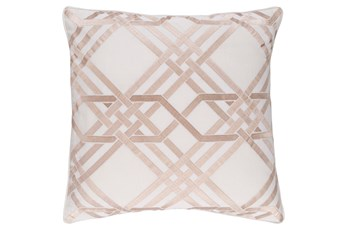 Promo Pillow-Alcove Ivory 18X18