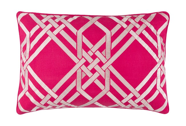 Accent Pillow-Alcove Magenta 13X20 - 360