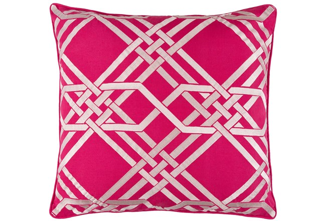 Accent Pillow-Alcove Magenta 18X18 - 360