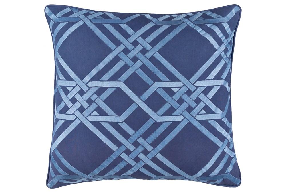 Accent Pillow-Alcove Cobalt 18X18