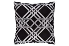 Accent Pillow-Alcove Black 18X18