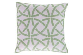 Accent Pillow-Inaya Seafoam 18X18