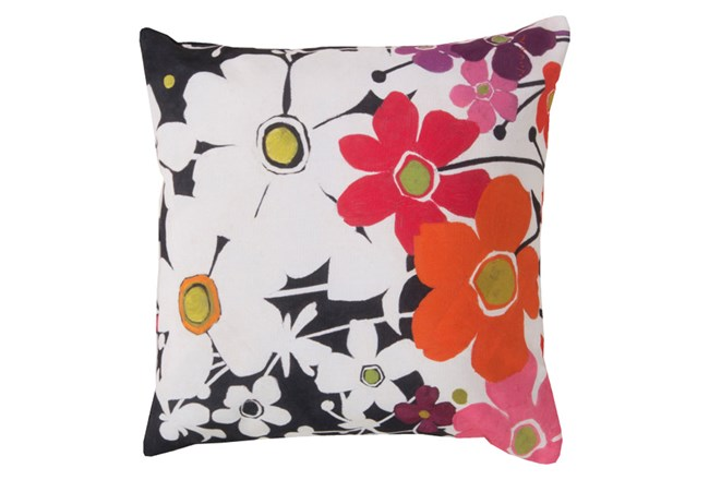 Accent Pillow-Amber Floral Multi 18X18 - 360