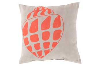 Accent Pillow-Zeppelin Coral 18X18