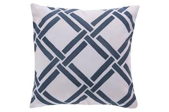 Accent Pillow-Lara Navy 18X18