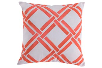 Accent Pillow-Lara Coral 18X18