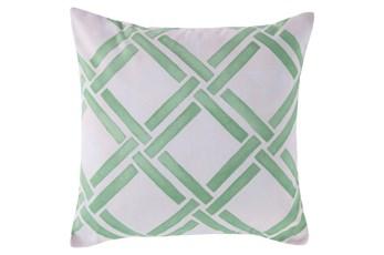 Accent Pillow-Lara Seafoam 18X18