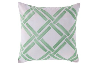 Accent Pillow-Lara Seafoam 20X20