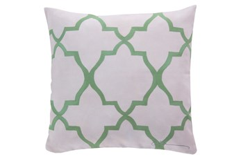 Accent Pillow-Manon Seafoam 18X18