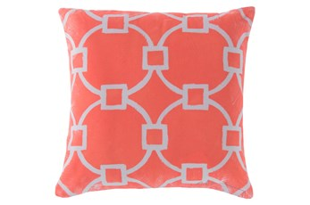 Accent Pillow-Margaux Coral 20X20
