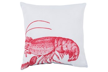Accent Pillow-Long Island Lobster 20X20