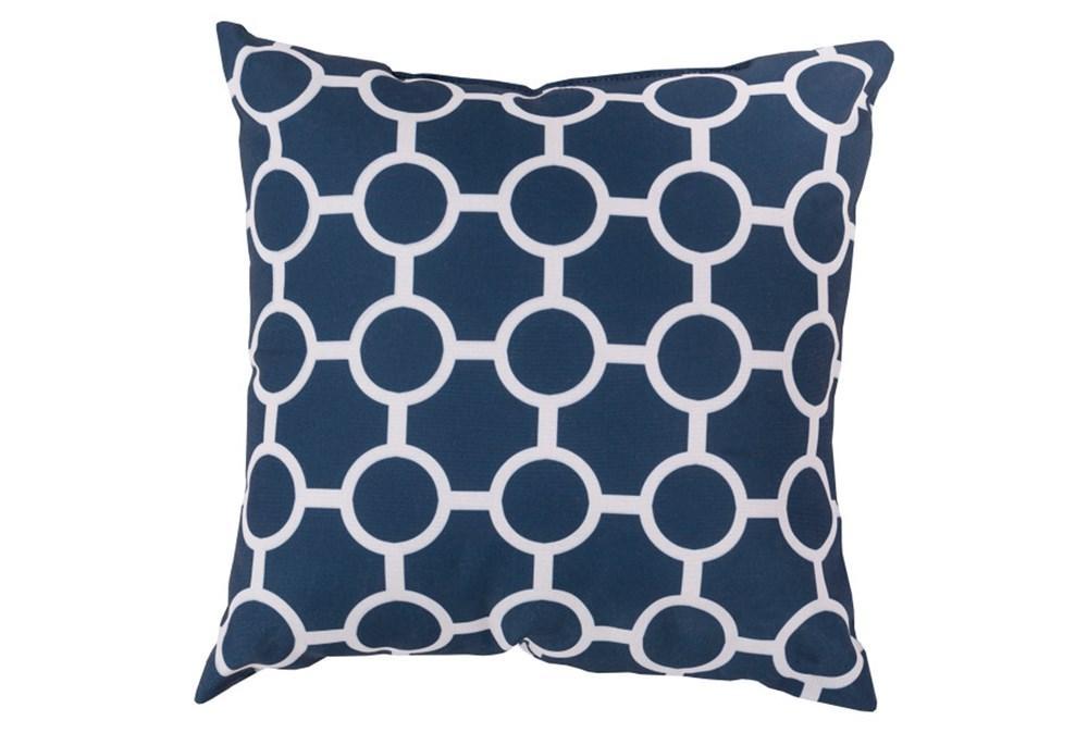 Accent Pillow-Estelle Navy 18X18