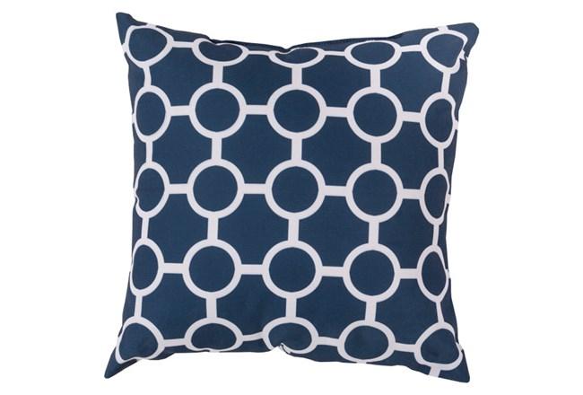 Accent Pillow-Estelle Navy 18X18 - 360