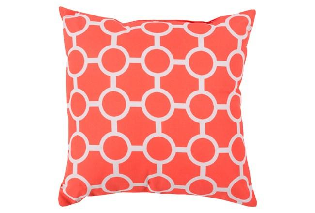 Accent Pillow-Estelle Coral 20X20 - 360