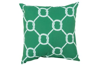 Accent Pillow-Lasso Green 20X20