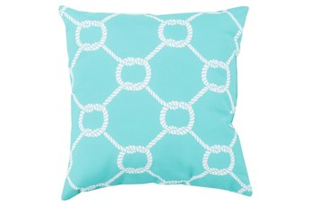 Accent Pillow-Lasso Sky Blue 18X18