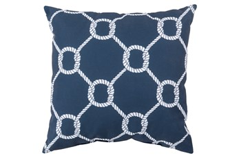 Accent Pillow-Lasso Navy 20X20