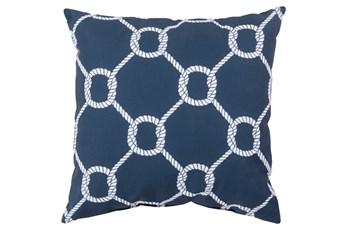 Accent Pillow-Lasso Navy 20X20