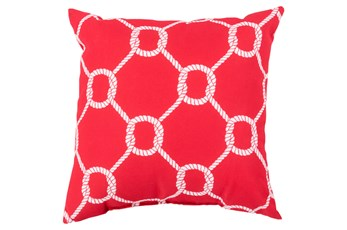 Accent Pillow-Lasso Red 18X18
