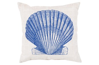 Accent Pillow-Panama Shell Blue 18X18