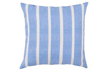 Accent Pillow-Dory Blue Stripe 20X20