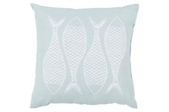 Accent Pillow-Poke Sky Blue 18X18