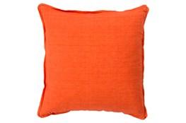 Accent Pillow-Elsa Solid Poppy 22X22