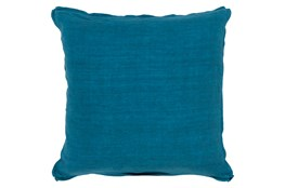 Accent Pillow-Elsa Solid Teal 18X18