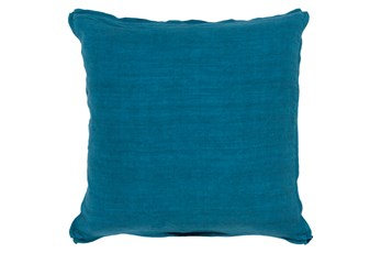 Accent Pillow-Elsa Solid Teal 22X22