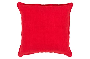 Accent Pillow-Elsa Solid Cherry 18X18